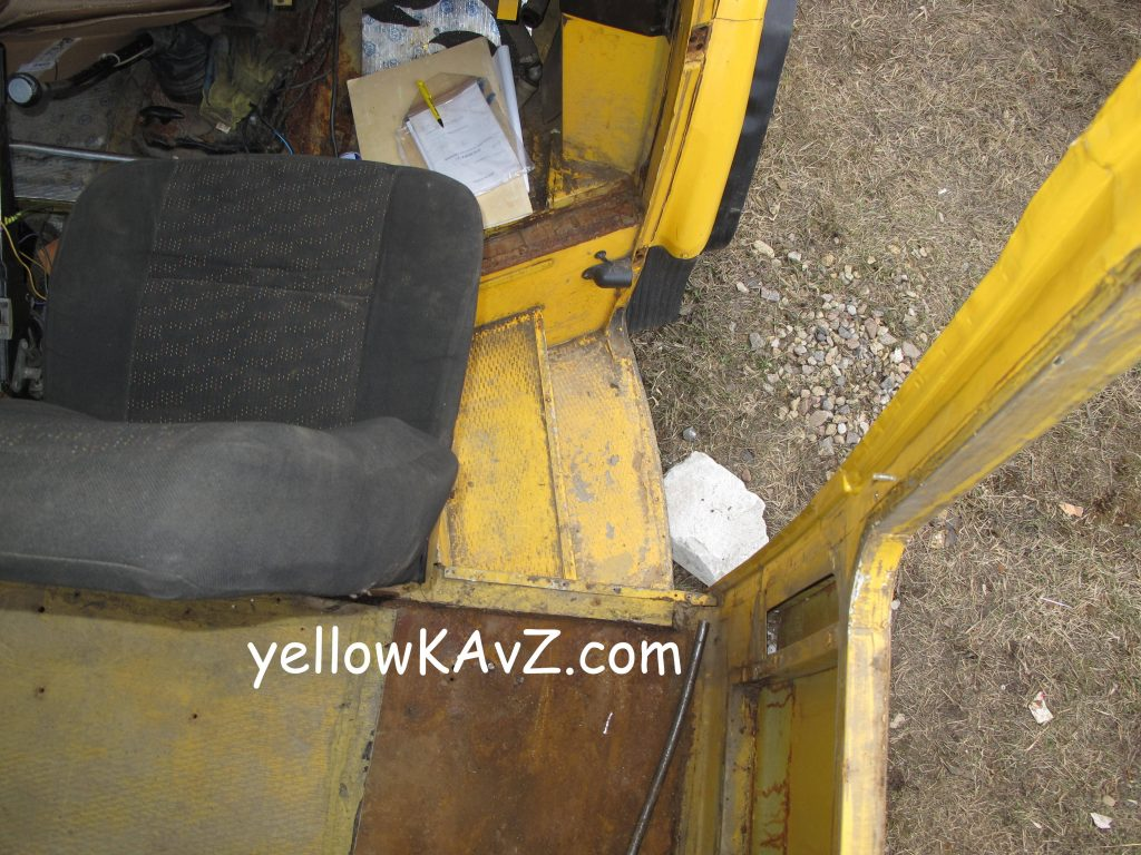 планировка автодома кресло водителя