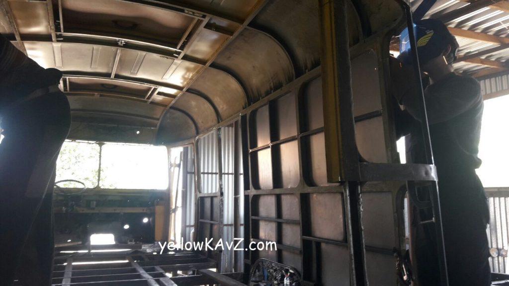 обшивка кузова автодома изнутри