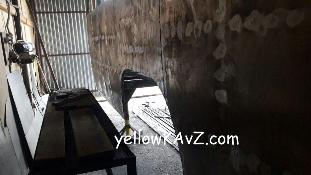 обшивка кузова внедорожного автодома кавз