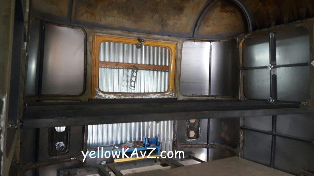 кровать в автодом 4х4