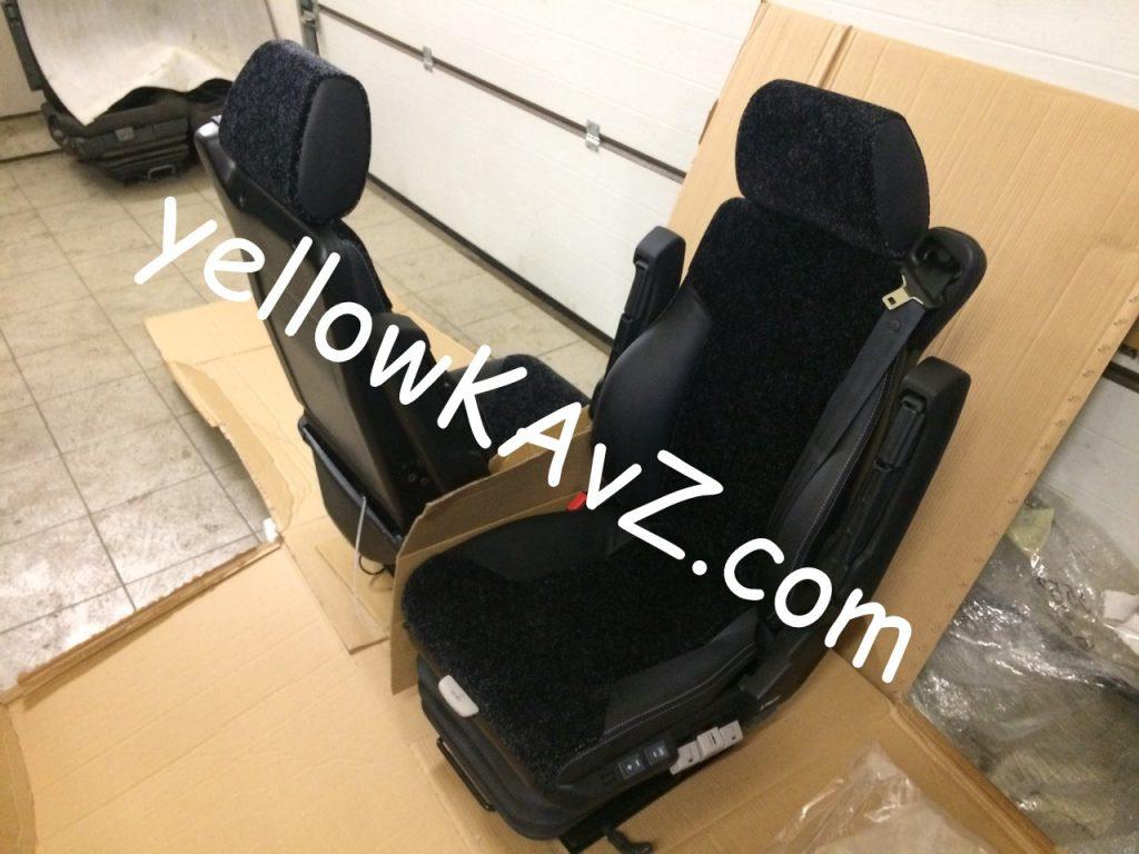 кресла для полноприводного автодома кавз