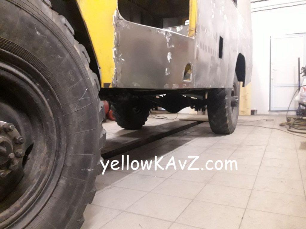 Кузов КАвЗ 397662