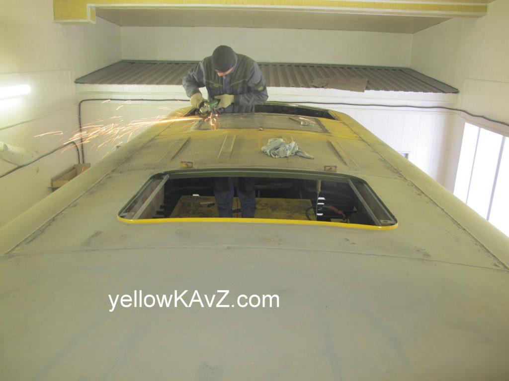 панорамное остекление крыши в автодом